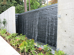 Water Wall Water Feature (click To Enlarge)
